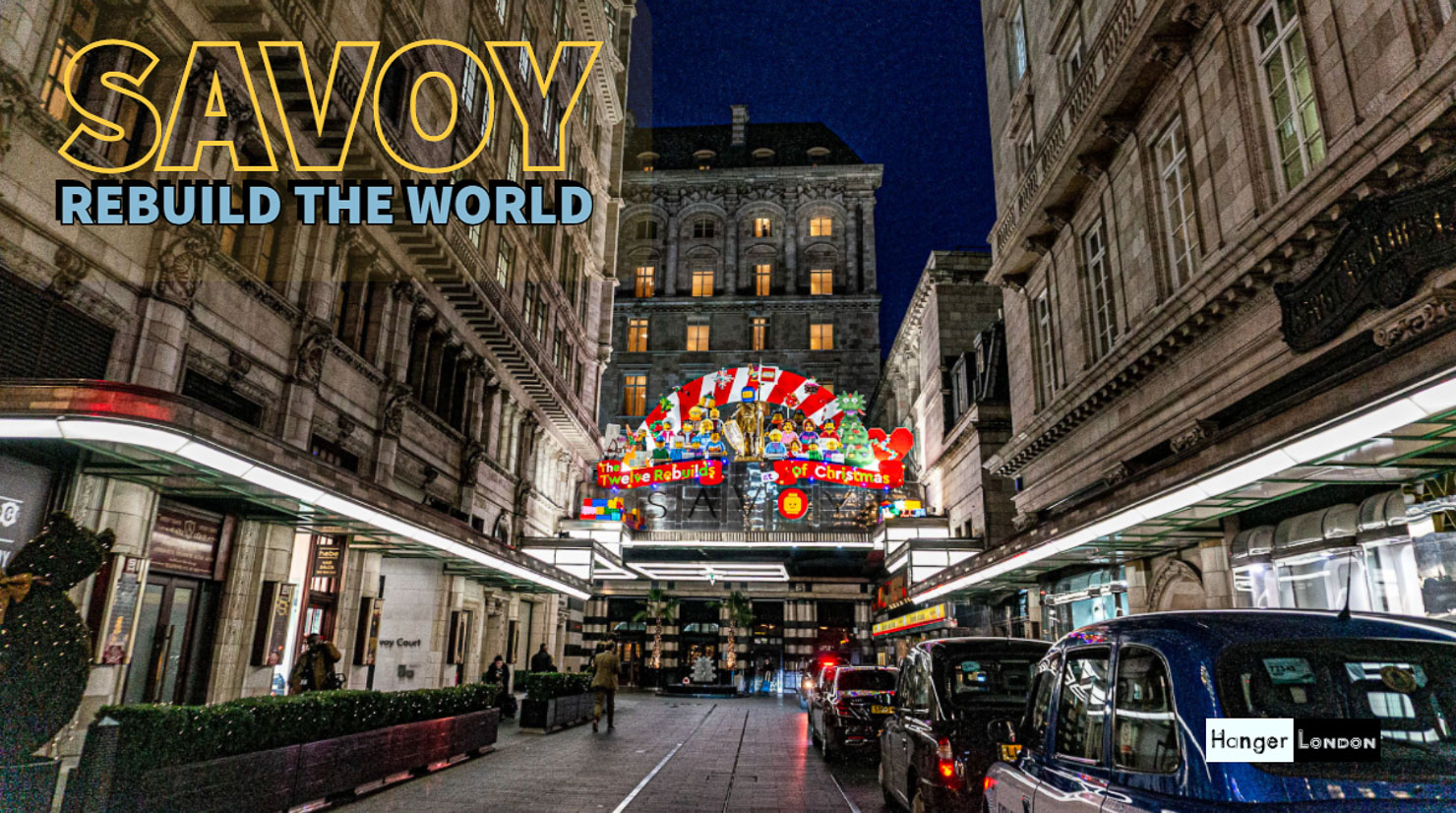Savoy rebuild the world in lego